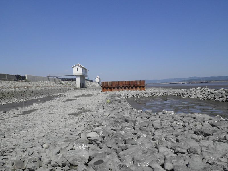 平成24年度有明海東部海岸保全事業 大和2号排水樋門整備工事