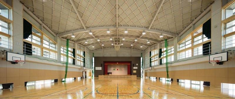 みやま市立統合小学校体育館棟建築主体工事