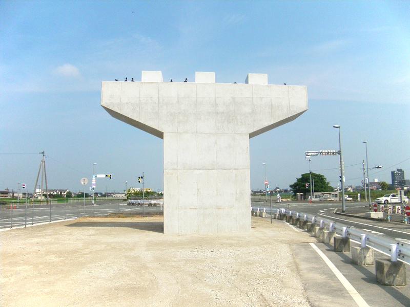 福岡208号 大川高架橋下部工