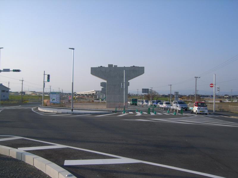 福岡208号 沖端高架橋下部工