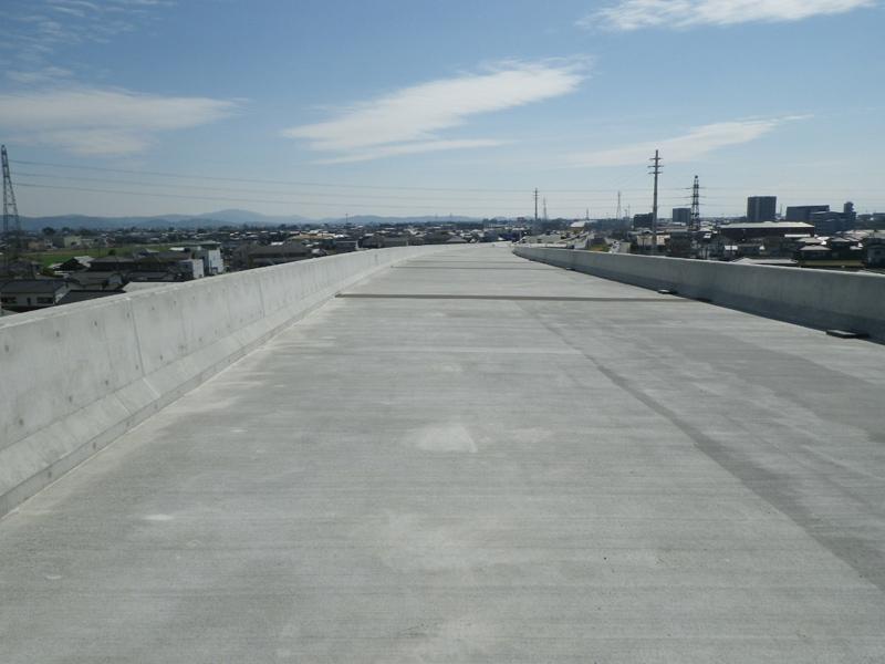 福岡208号 沖端高架橋床版工事