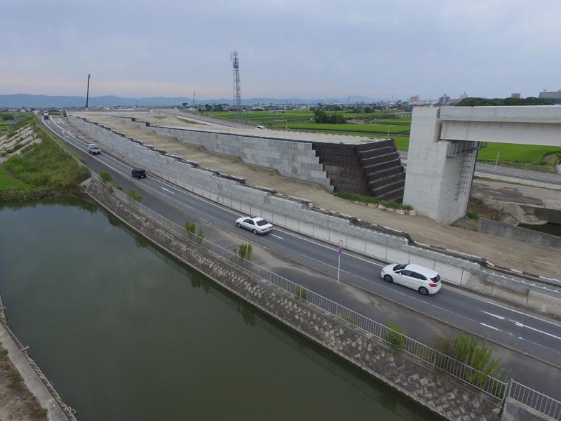 福岡208号 柳川東IC改築外工事 完成